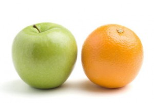try apple and orange in this apple recipe