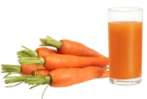 delicious and creamy carrot juice