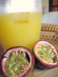 refreshing, delicious summer drink - Passion Fruit Cup