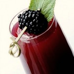 Juicing Recipe 'Blackberry Bellini'