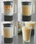 Healthy Drink Mango and Banana Smoothie