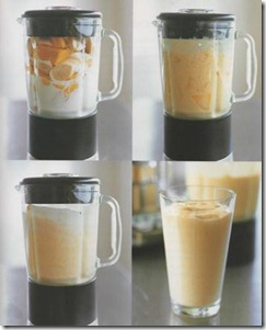 healthy drink - mango-and-banana-smoothie