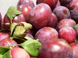 plums for fig, plum and soy shake - energy drinks