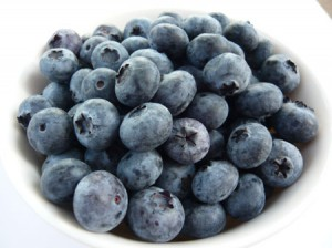 blueberries for Blueberry Fool Restorative Drink